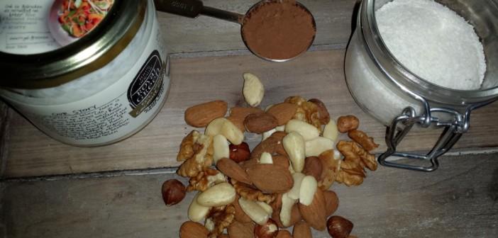 Ingredienten chocola