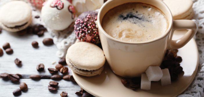Gewoonte koekje bij de koffie