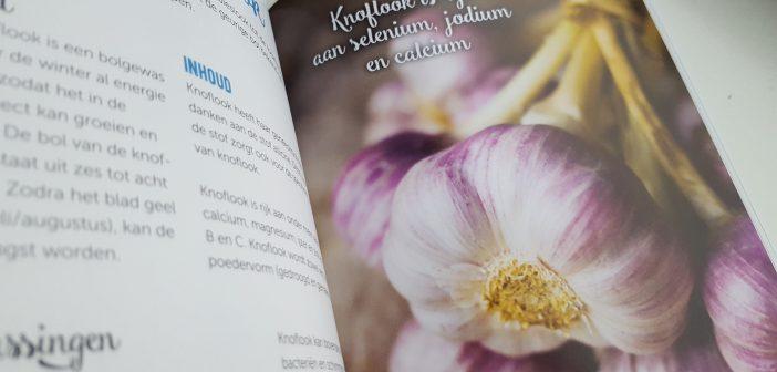 Knoflook: vitaminen en mineralen boek