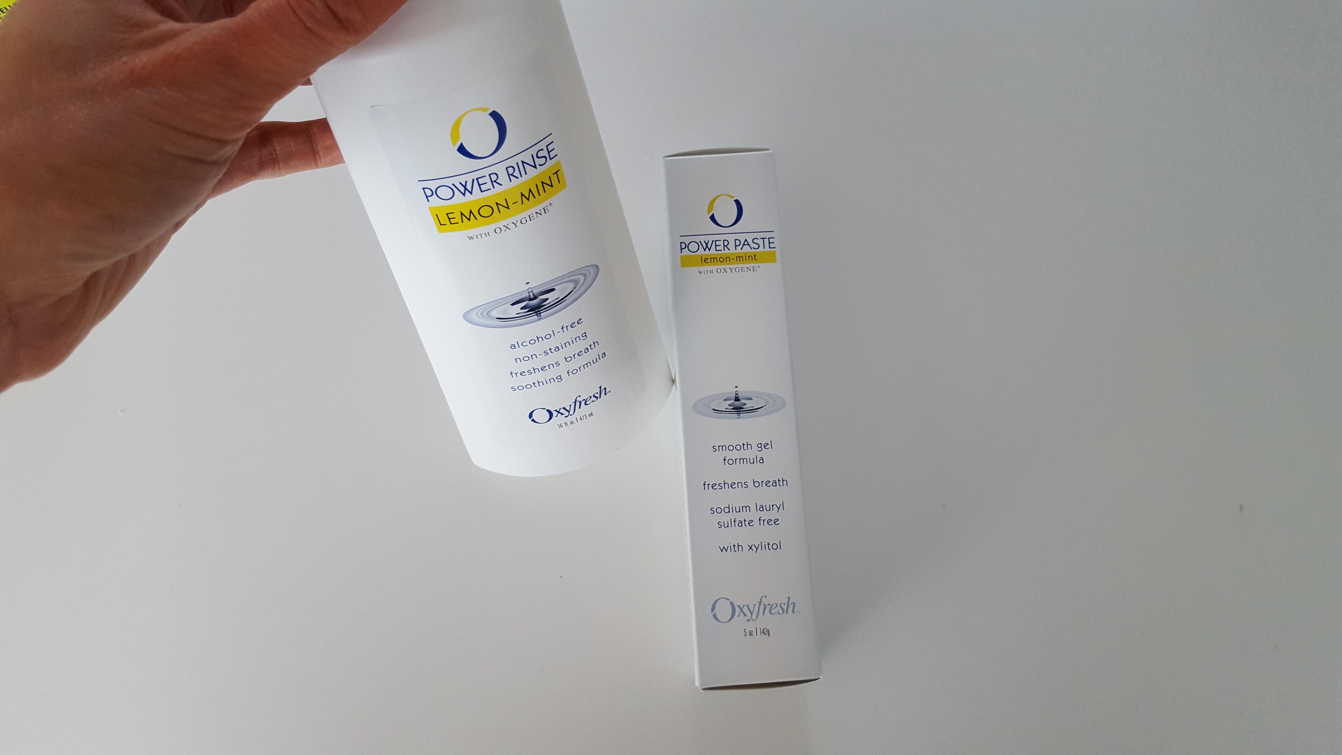 Oxyfresh mondspoeling en tandpasta
